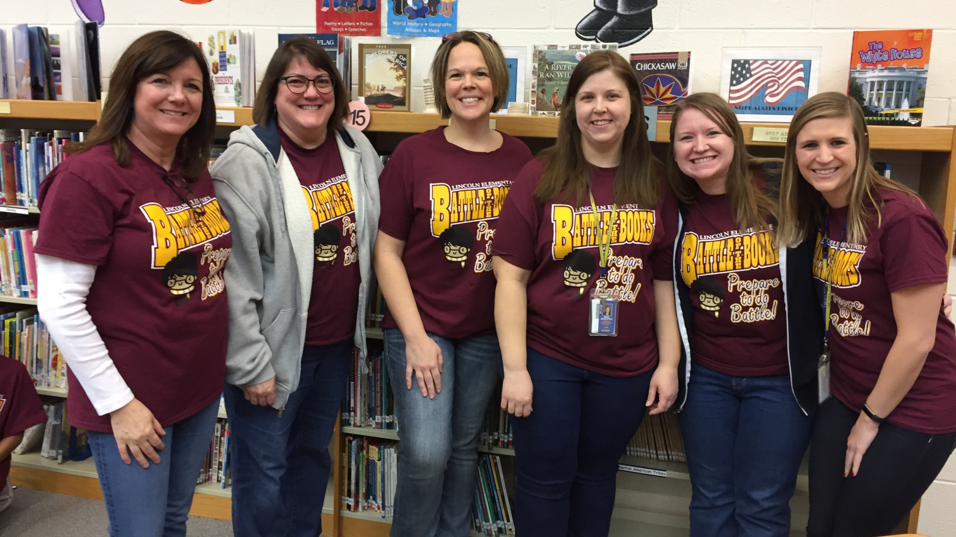Battle of the Books - Staff Team