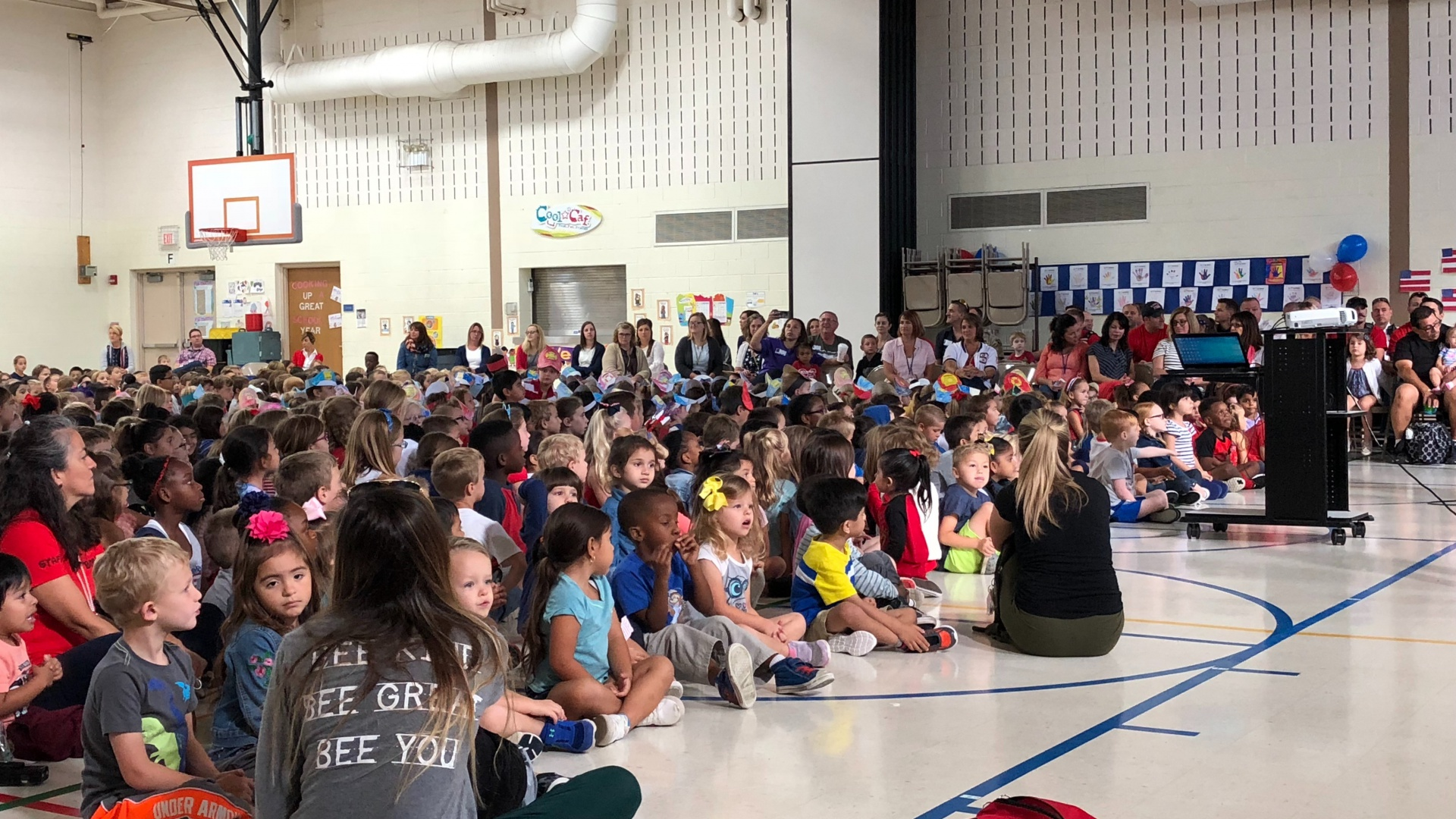 Patriot's Day Assembly