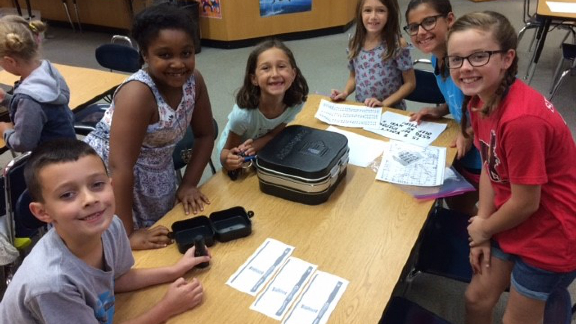 2nd grade and 5th grade collaboration activity