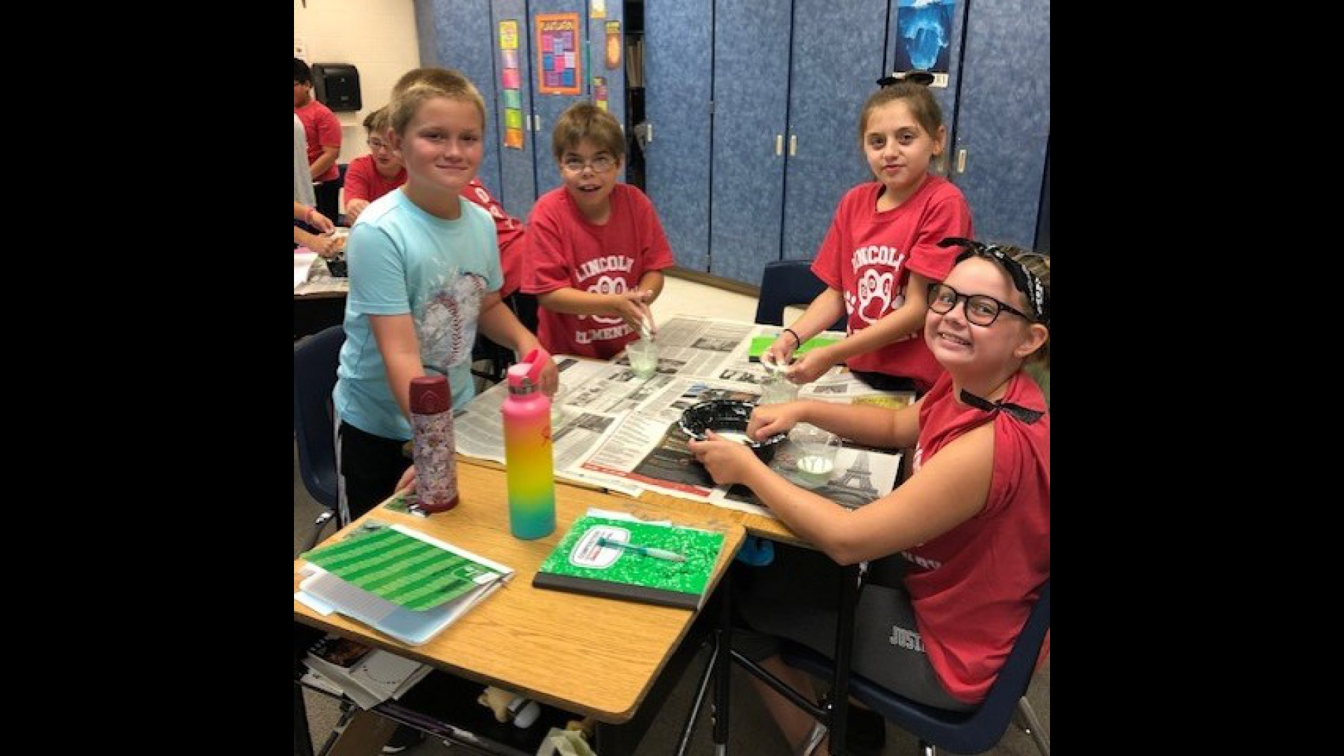 Mrs. Meyer's Oobleck Class Activity